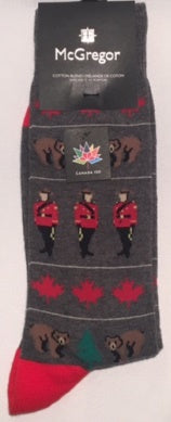 Mountie Socks MG1000