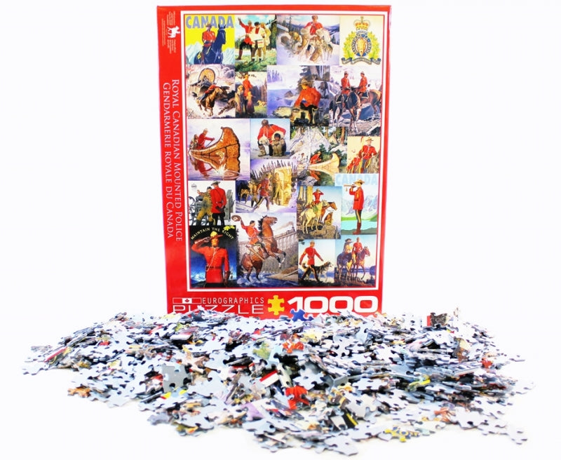RCMP Collage Puzzle F2700