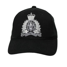 Ball Cap with the RCMP Crest / Casquette de baseball avec l'écusson de la GRC