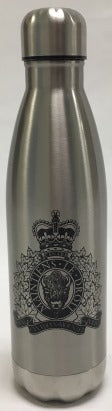 Water bottle Stainless Steel with RCMP Crest ZD153