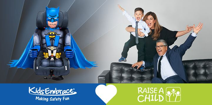RaiseAChild and KidsEmbrace: A Partnership for Foster Children