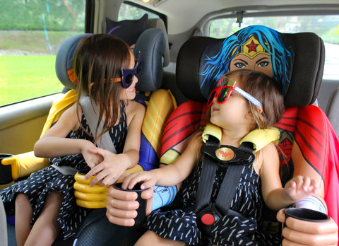 The KidsEmbrace Batgirl Combination Booster Car Seat Will Be Sold Exclusively On Amazon And You Can Find Wonder Woman