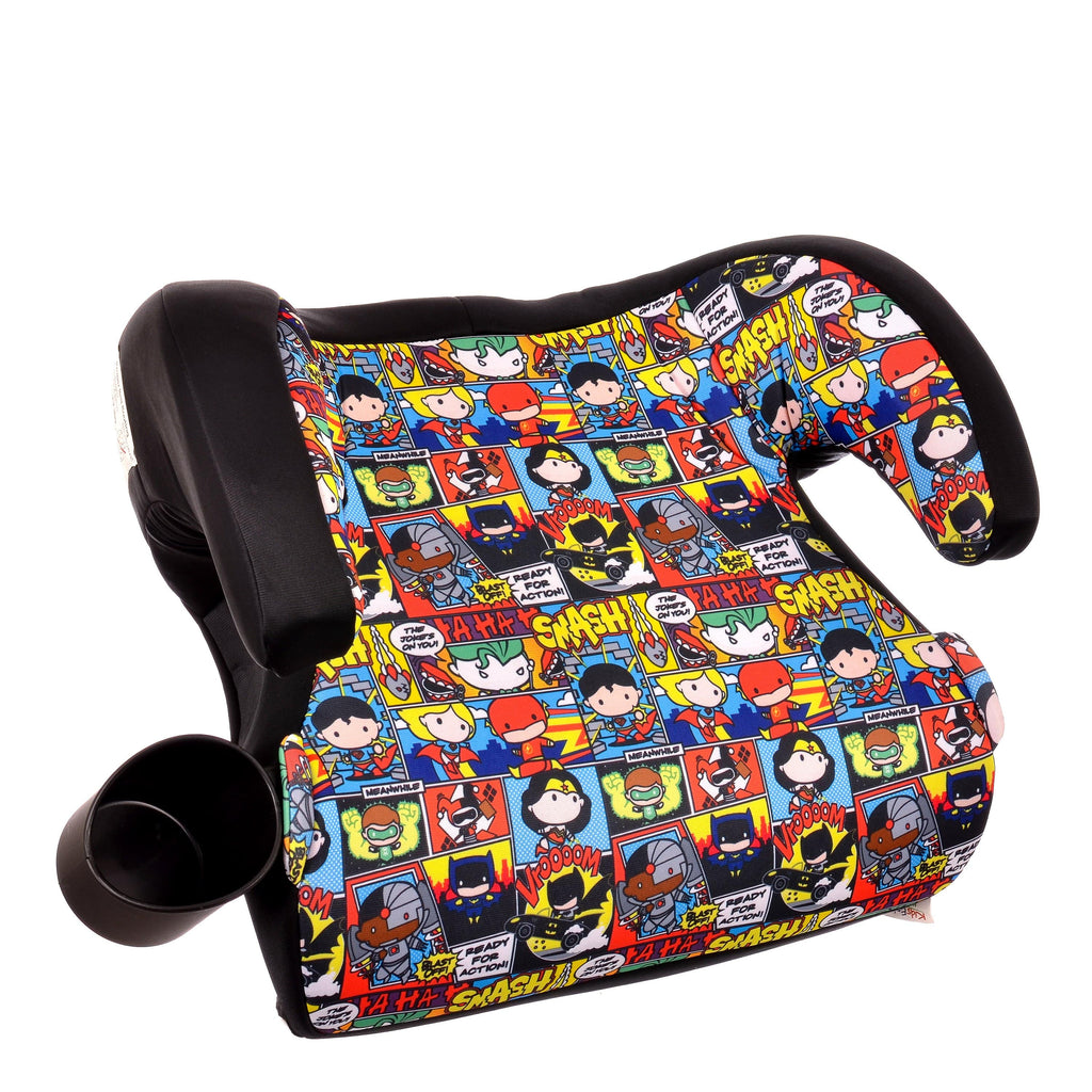 KidsEmbrace DC Comics Justice League Chibi Backless Booster Car Seat