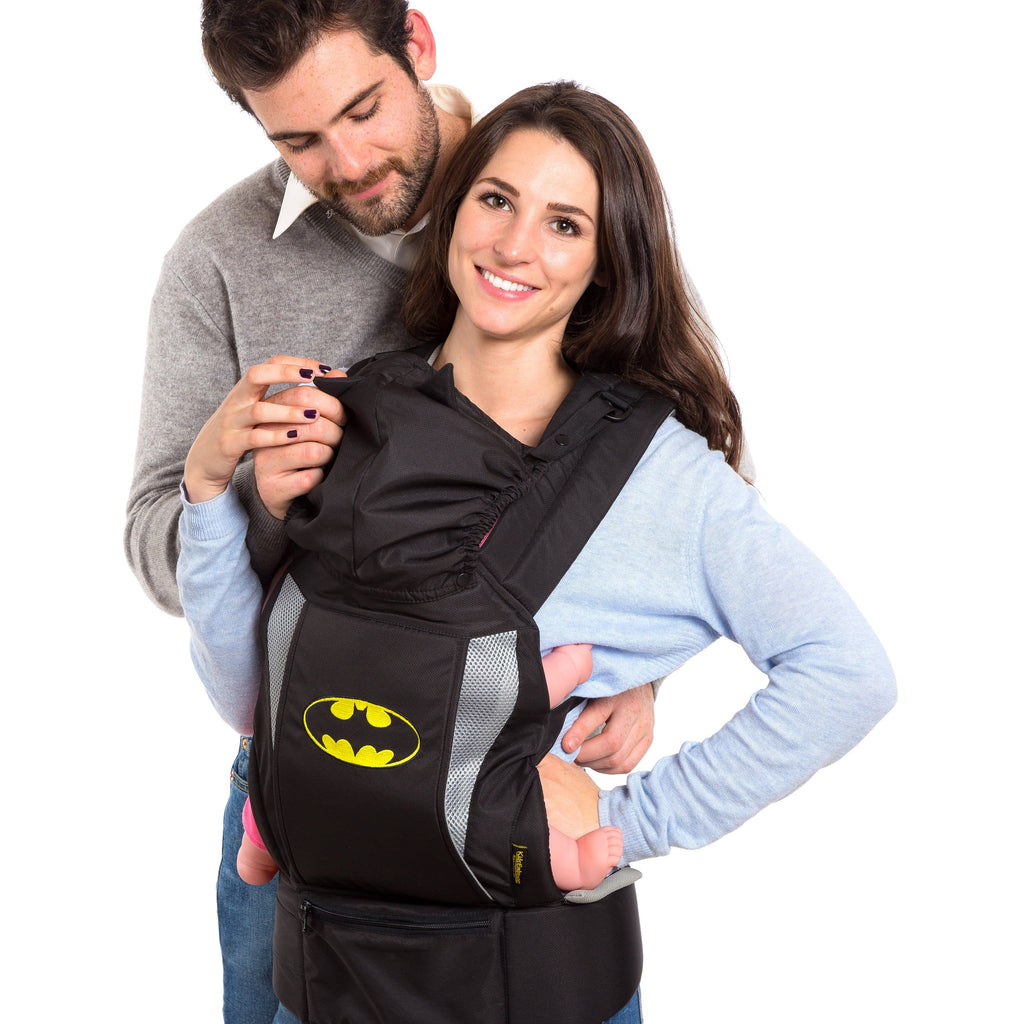 KidsEmbrace DC Comics Batman Deluxe Baby Carrier with Hood
