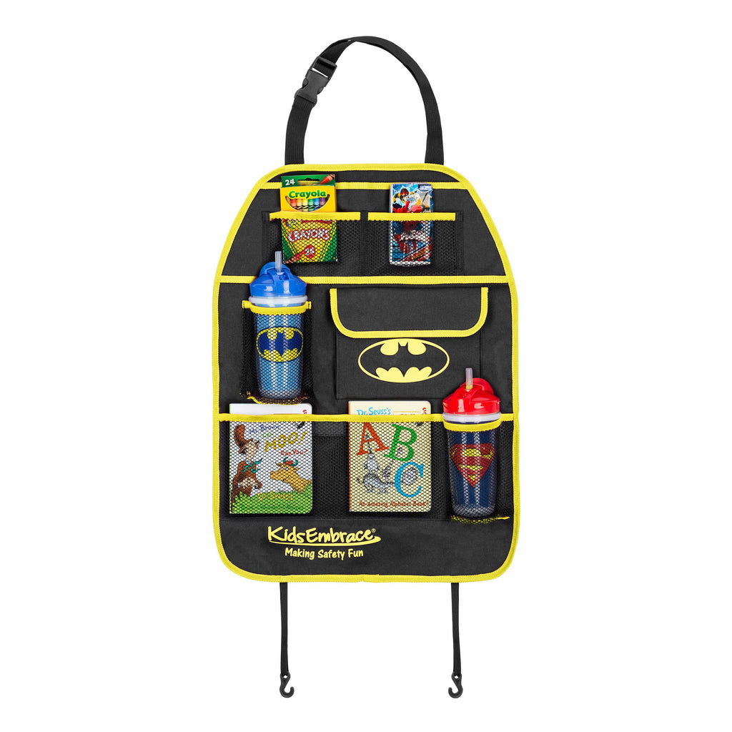 KidsEmbrace DC Comics Batman Deluxe Backseat Organizer