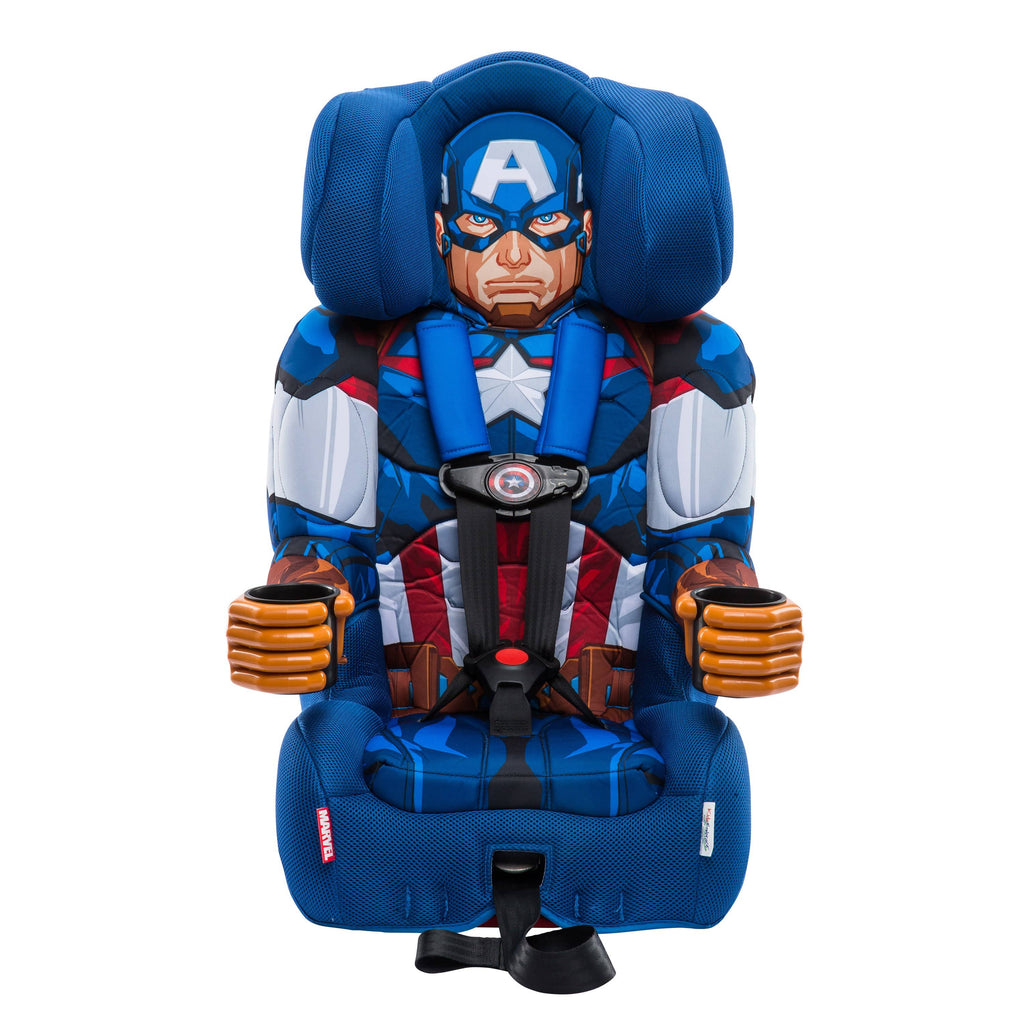 Admirable Kidsembrace Marvel Avengers Captain America Combination Harness Booster Car Seat Pabps2019 Chair Design Images Pabps2019Com