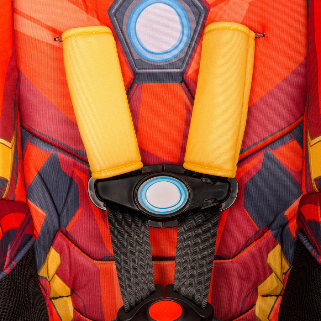 KidsEmbrace Marvel Avengers Iron Man Combination Harness Booster Car Seat