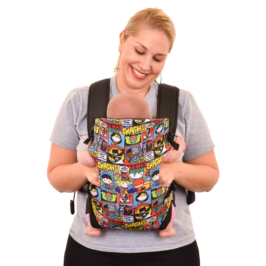 KidsEmbrace DC Comics Justice League Chibi Elite Baby Carrier