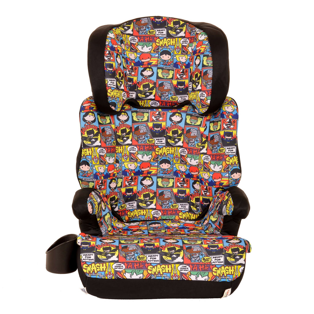 Car Seats For Three Year Olds >> Kidsembrace Dc Comics Justice League Chibi High Back Booster Car Seat
