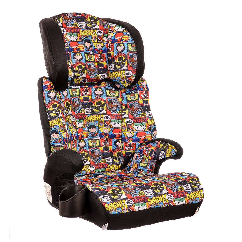 KidsEmbrace DC Comics Justice League Chibi High Back Booster Car Seat