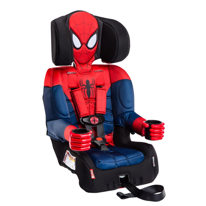 KidsEmbrace Marvel Ultimate Spider-Man Combination Harness Booster Car Seat