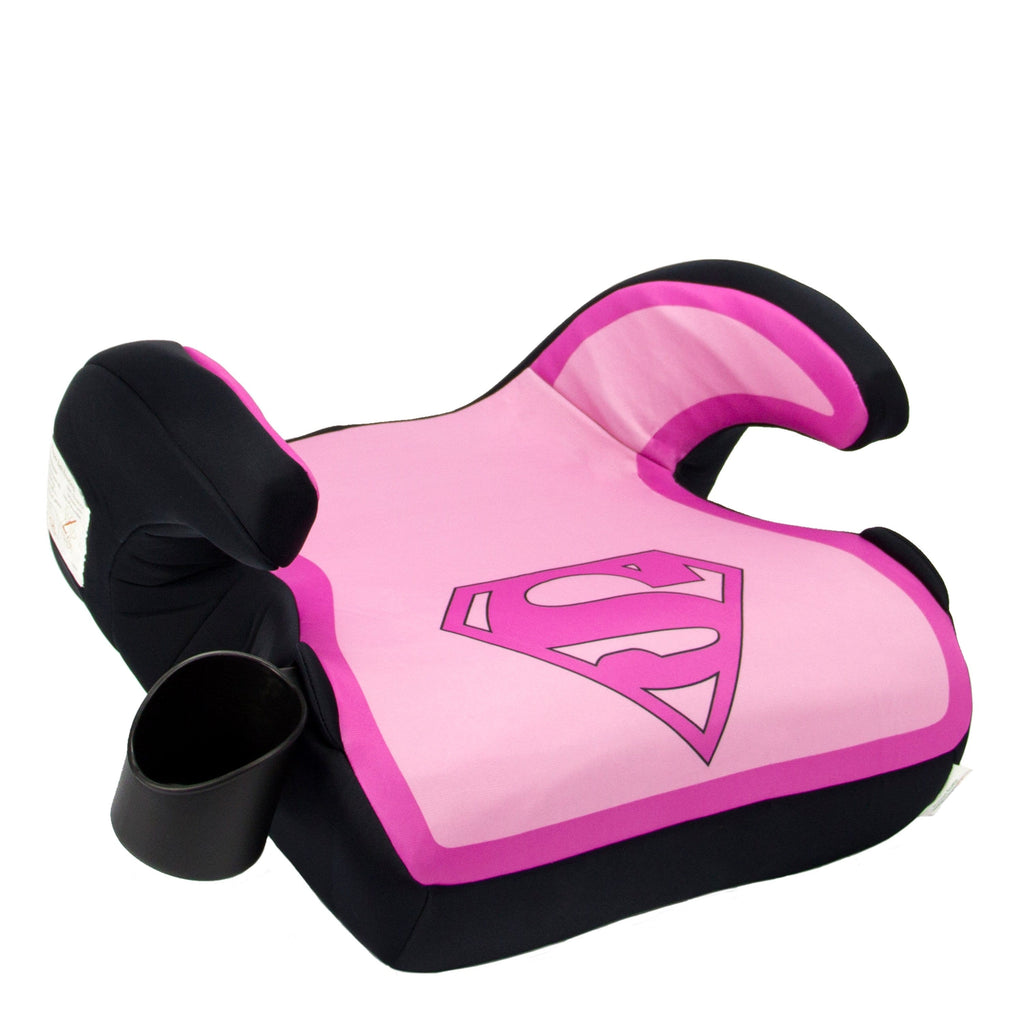 KidsEmbrace DC Comics Supergirl Backless Booster Car Seat