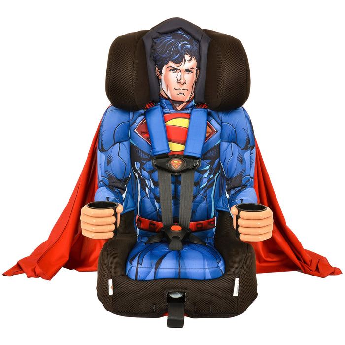 KidsEmbrace DC Comics Superman Combination Harness Booster Car Seat