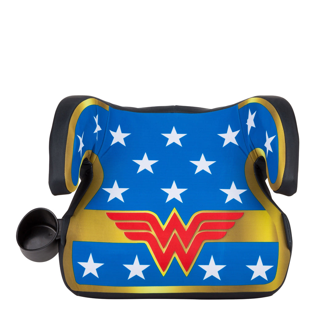 KidsEmbrace DC Comics Wonder Woman Backless Booster Car Seat