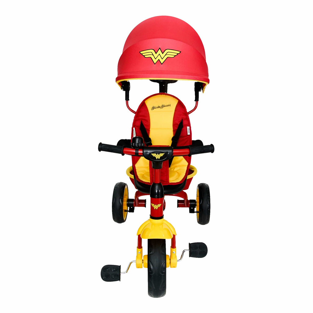 Wonder Woman 4 in 1 Push and Pedal Trike/Stroller