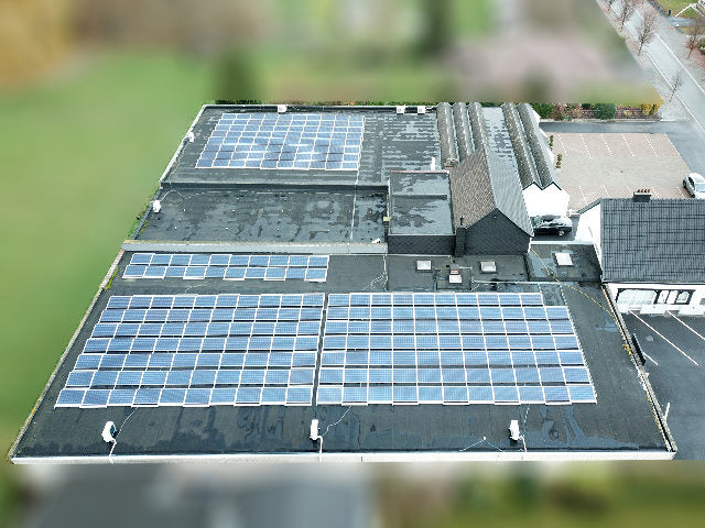 ZONNEPANELEN LEDERWAREN DE WIT