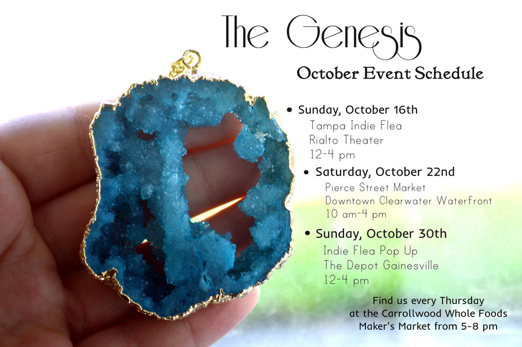 October Event Schedule!