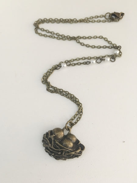 Neatly Nested Necklace