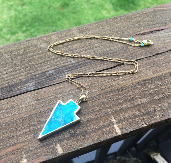 Earthly Arrows Necklace