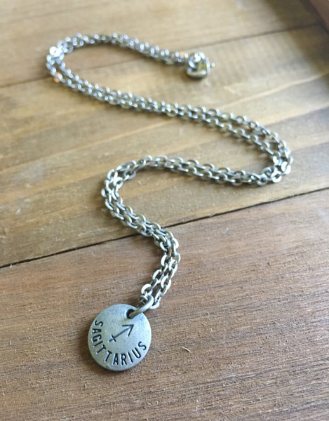 Zodiac Zen Necklace in Sagittarius