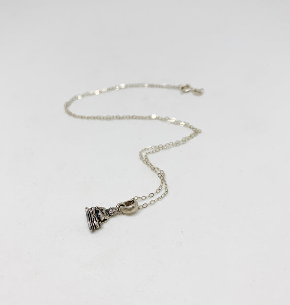 Sacred Keepsake Sterling Silver Necklace in The Buddha