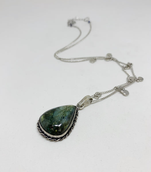 Longing for Labradorite Necklace