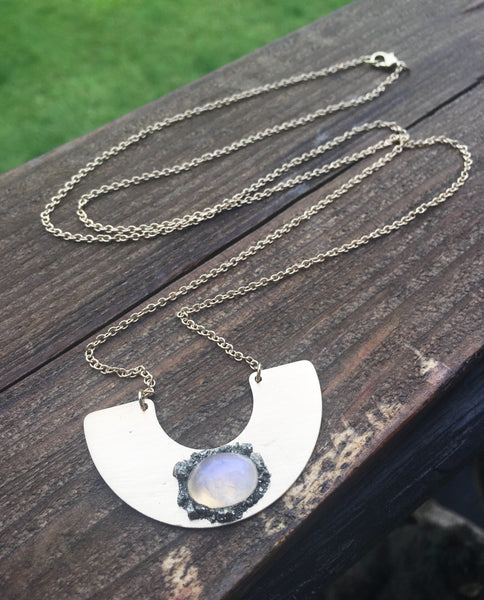 Light Side of the Moon Necklace