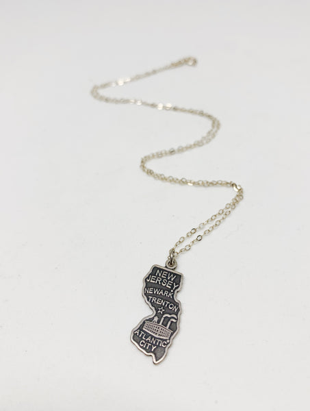 Plainly Stated Necklace in New Jersey and Sterling Silver