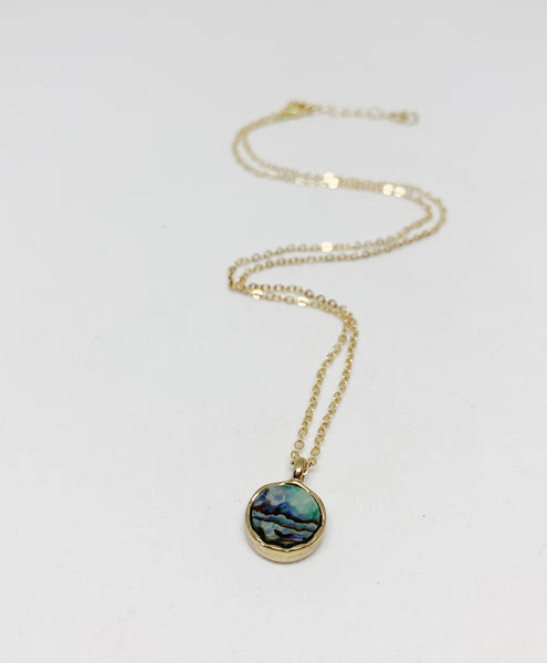 Adored Abalone Necklace