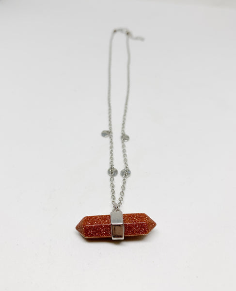 Desert Darling Necklace in Sandstone