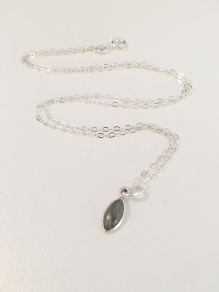 Lovely Labradorite Sterling Silver Necklace