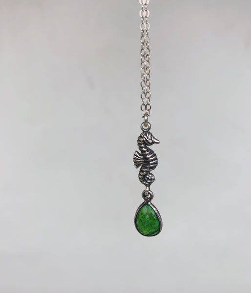 Under the Seahorse Necklace