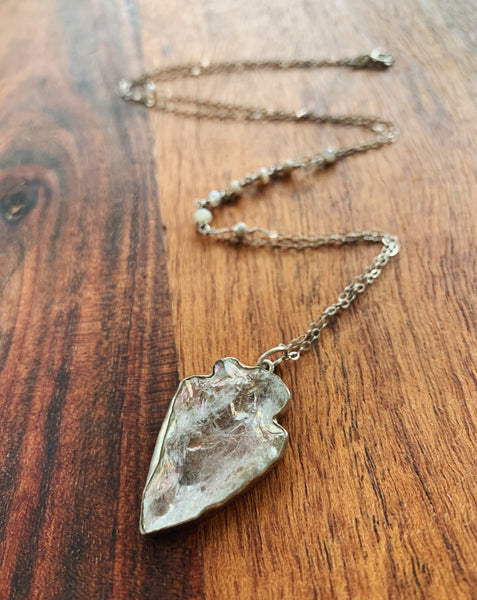 Aim for Me Sterling Silver Necklace