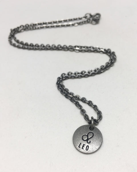 Zodiac Zen Necklace in Leo