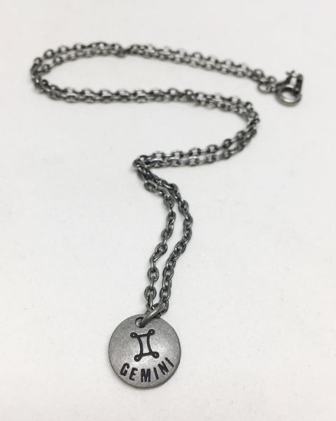 Zodiac Zen Necklace in Gemini