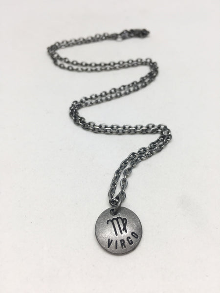 Zodiac Zen Necklace in Virgo