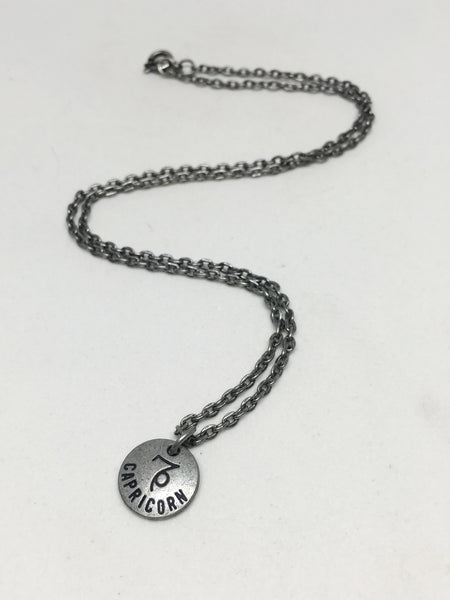 Zodiac Zen Necklace in Capricorn