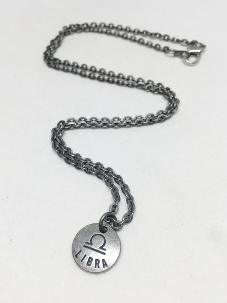 Zodiac Zen Necklace in Libra