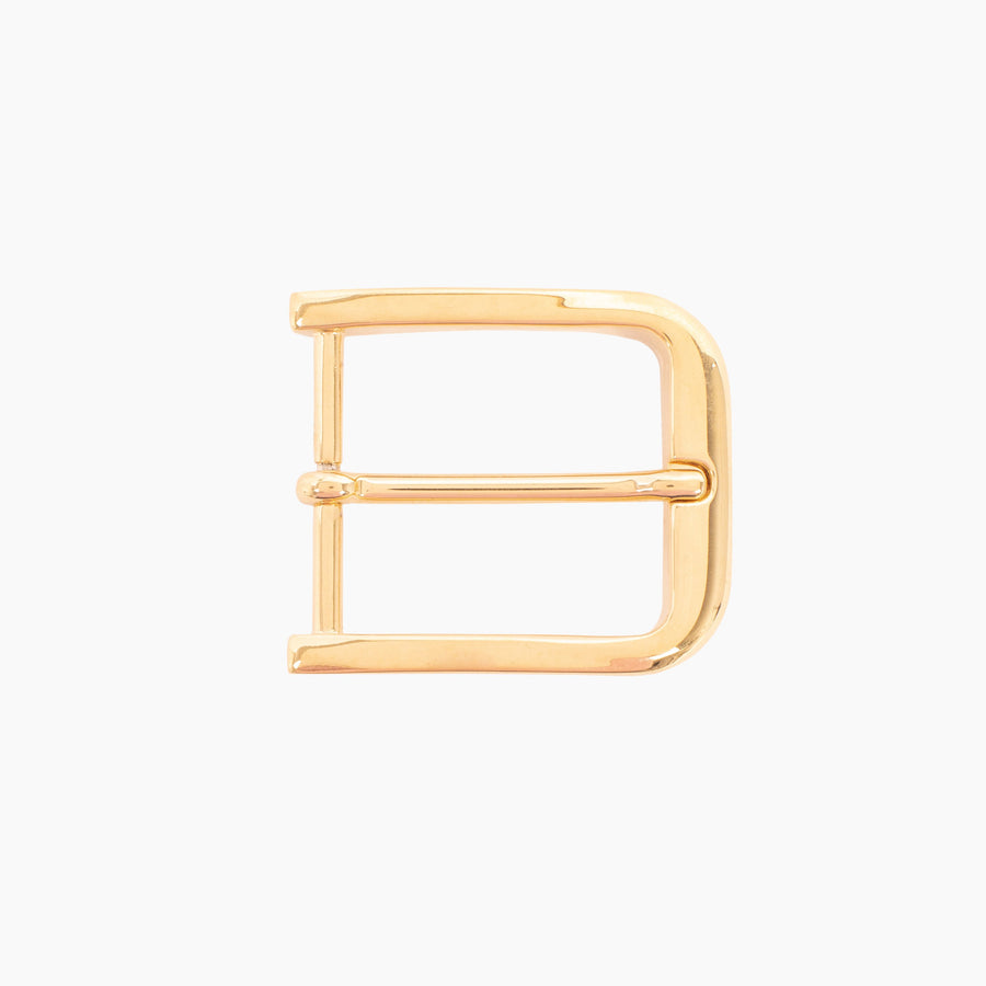 1 3/8 Inch Harness Buckle - 14K Gold Over Brass