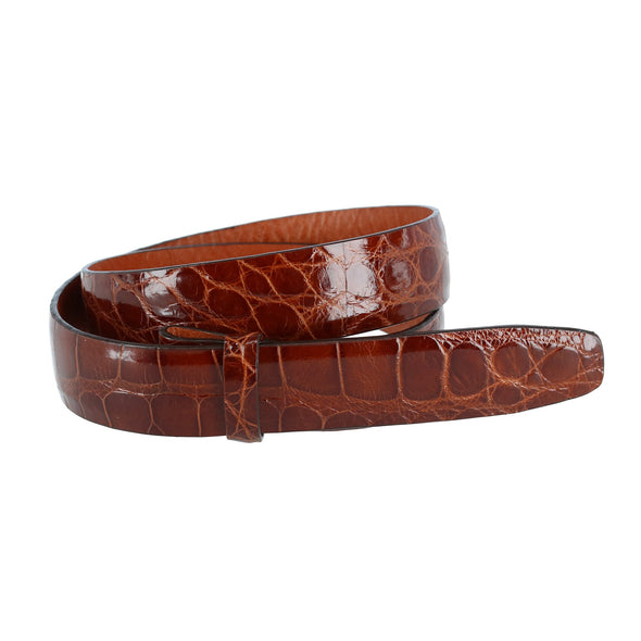 30mm Genuine Alligator Belt Strap