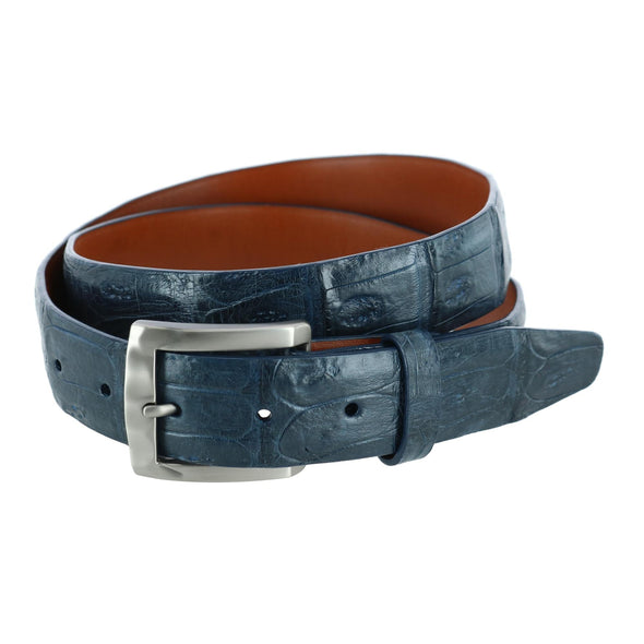 Windham 35MM Genuine Matte Crocodile Tail Belt