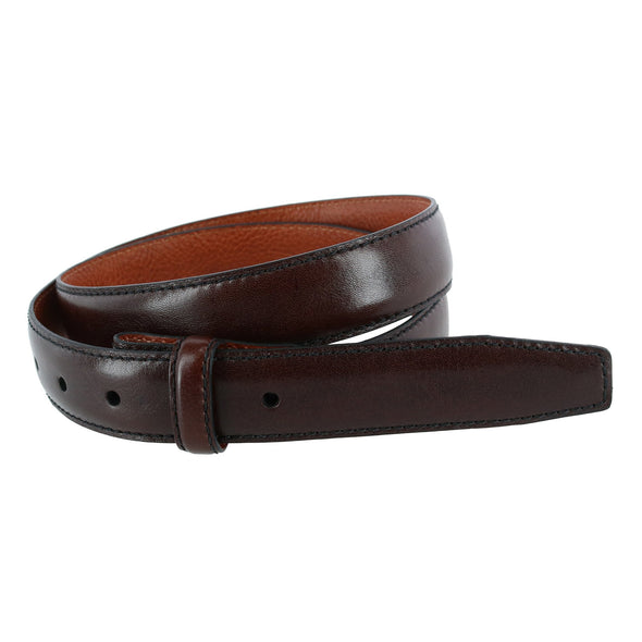 30mm Pebble Grain Leather Harness Belt Strap