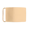 30mm Gold Smooth Brass Base Belt Buckle