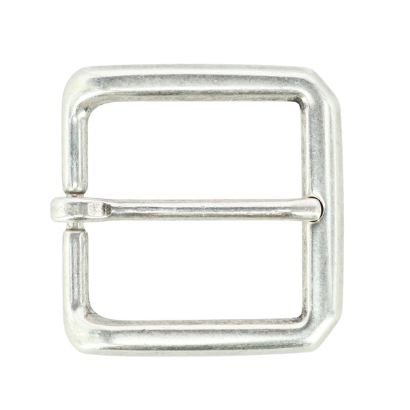 35mm Square Solid Brass Harness Belt Buckle