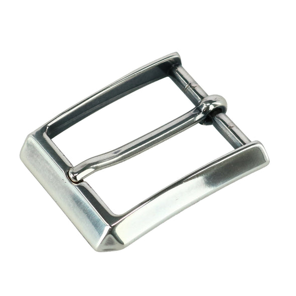 30MM Angled Harness Leather Belt Buckle
