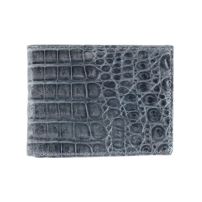 Genuine Crocodile Bi-Fold Wallet