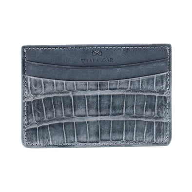 Genuine Crocodile Card Case