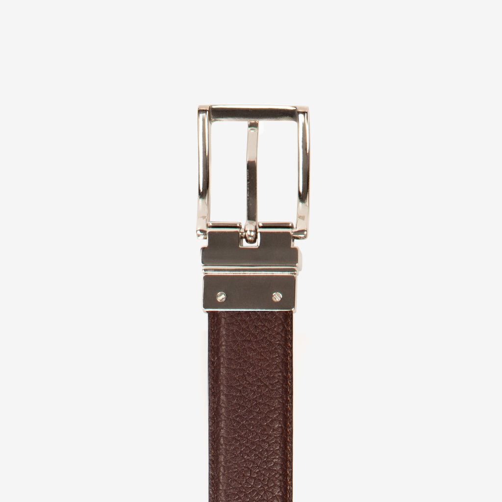 Dorado Reversible Leather Dress Belt