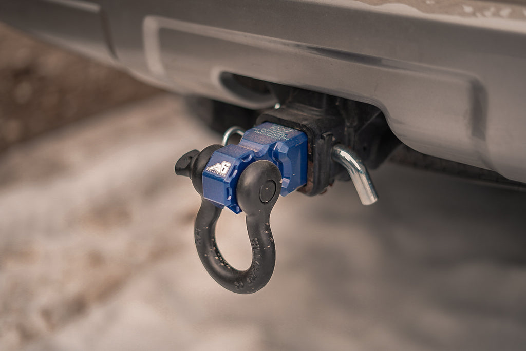 What is a Recovery Shackle Hitch?