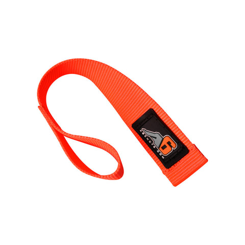 A6™ WINCH HOOK Pull Strap - SAFETY ORANGE - 1.5 inch wide